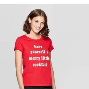 Have Yourself a Merry Little Cocktail Shirt XS